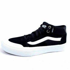 Vans Pro Mens 6 Skate Shoes Black White 721454